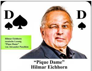 """""""Pique Dame"""" von Alexander Puschkin eine szenische Lesung mit Hilmar Eichhorn"""